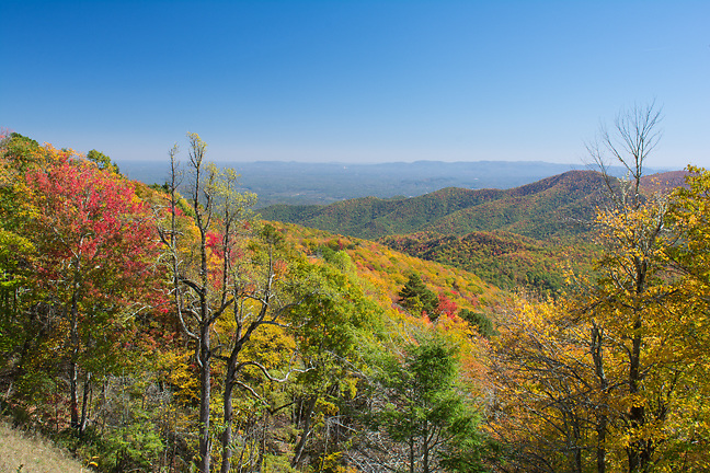 Photo taken from the Eastern NC Mountains.