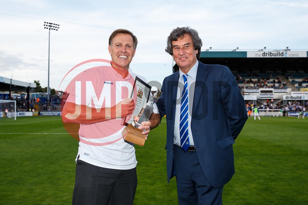 Phil Kite half time presentations - Mandatory byline: Rogan Thomson/JMP - 07966 386802 - 31/07/2015 - FOOTBALL - Memorial Stadium - Bristol, England - Bristol Rovers v West Bromwich Albion - Phil Kite Testimonial Match.