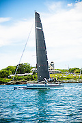 M32 class racing Around the Island in Newport, Rhode Island, as part of the New York Yacht Club Annual Regatta 2016