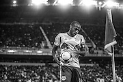 HARRISON, NJ - NOVEMBER 06:  Thierry Henry #14 of New York Red Bulls looks on during the game against the Houston Dynamo at Red Bulls Arena on November 6, 2013. (Photo By: Rob Tringali)