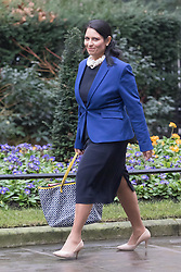 Downing Street, London, January 31 2017. International Development Secretary Priti Patel arrives at the weekly meeting of the UK cabinet.