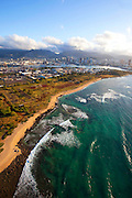 Sand Island, Honolulu, Oahu, Hawaii