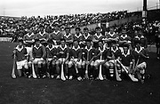 17/08/1969<br /> 08/17/1969<br /> 17 August 1969<br /> All-Ireland Senior Semi-Final: Kilkenny v London at Croke Park, Dublin.<br /> The London team.