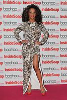 LONDON - SEPTEMBER 24: Chelsee Healey attended the 'Inside Soap Awards' at One Marylebone, London, UK. September 24, 2012. (Photo by Richard Goldschmidt)
