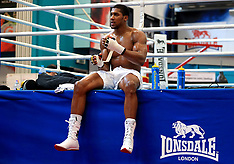 Anthony Joshua Workout - 21 March 2018