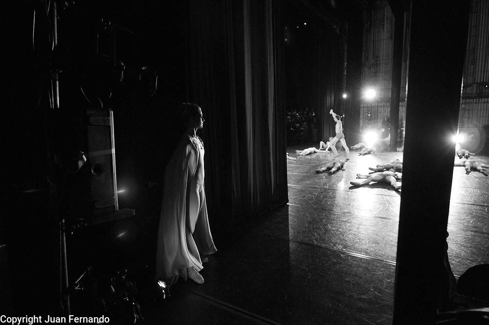 Carmina Burana Costume Rehearsal, Sacramento Ballet, March 2010