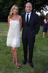INDIA HICKS and DAVID FLINT WOOD at the annual Serpentine Gallery Summer Party in association with Swarovski held at the gallery, Kensington Gardens, London on 11th July 2007.<br /><br />NON EXCLUSIVE - WORLD RIGHTS