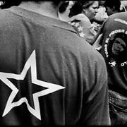 MISCELÁNEAS<br /> Photography by Aaron Sosa<br /> Marcha Oficilista en apoyo a TVES<br /> Caracas, Estado Anzoategui<br /> Venezuela 2007<br /> (Copyright © Aaron Sosa)