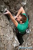 Climbing American Fork Canyon