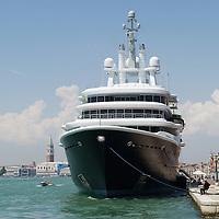 Super Yacht Luna in Venice