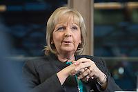 23 JAN 2017, BERLIN/GERMANY:<br /> Hannelore Kraft, SPD, Ministerpraesidentin Nordrhein-Westfalen, während einem Interview, Landesvertretung Nordrhein-Westfalen<br /> IMAGE: 20170123-02-013