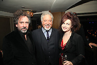 Tim Burton, Tom Jones and Helena Bonham Carter