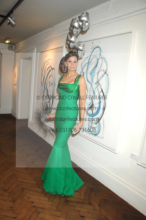 Fashion designer ISABEL KRISTENSEN at Andy & Patti Wong's Chinese new Year party held at County Hall and Dali Universe, London on 26th January 2008.<br /> <br /> NON EXCLUSIVE - WORLD RIGHTS (EMBARGOED FOR PUBLICATION IN UK MAGAZINES UNTIL 1 MONTH AFTER CREATE DATE AND TIME) www.donfeatures.com  +44 (0) 7092 235465