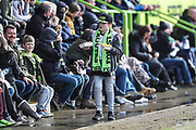 Young FGR fan during the EFL Sky Bet League 2 match between Forest Green Rovers and Notts County at the New Lawn, Forest Green, United Kingdom on 10 March 2018. Picture by Shane Healey.