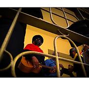 """Autor de la Obra: Aaron Sosa<br /> Título: """"Serie: La Parranda de San Pedro""""<br /> Lugar: Guatire, Estado Miranda - Venezuela<br /> Año de Creación: 2009<br /> Técnica: Captura digital en RAW impresa en papel 100% algodón Ilford Galeríe Prestige Silk 310gsm<br /> Medidas de la fotografía: 33,3 x 22,3 cms<br /> Medidas del soporte: 45 x 35 cms<br /> Observaciones: Cada obra esta debidamente firmada e identificada con """"grafito – material libre de acidez"""" en la parte posterior. Tanto en la fotografía como en el soporte. La fotografía se fijó al cartón con esquineros libres de ácido para así evitar usar algún pegamento contaminante.<br /> <br /> Precio: Consultar<br /> Envios a nivel nacional  e internacional."""