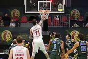 Raduljica Miroslav<br /> EA7 Emporio Armani Milano - Cantine Due Palme Brindisi<br /> Poste Mobile Final Eight F8 2017 <br /> Lega Basket 2016/2017<br /> Rimini, 16/02/2017<br /> Foto Ciamillo-Castoria / M. Brondi