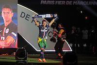 Marquinhos - PSG Champion - 23.05.2015 - PSG / Reims - 38eme journee de Ligue 1<br /> Photo : Andre Ferreira / Icon Sport