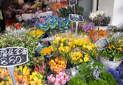 Flower Market - Hong Kong, China