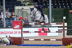De Luca Lorenzo, ITA, Limestone Grey<br /> CSI5* Jumping<br /> Royal Windsor Horse Show<br /> © Hippo Foto - Jon Stroud