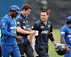 Christchurch-Cricket, New Zealand v Sri Lanka, 1st ODI