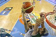 DESCRIZIONE : Alicante Spagna Spain Eurobasket Men 2007 Italia Slovenia Italy Slovenia <br /> GIOCATORE : Andrea Bargnani <br /> SQUADRA : Nazionale Italia Uomini Italy <br /> EVENTO : Eurobasket Men 2007 Campionati Europei Uomini 2007 <br /> GARA : Italia Slovenia Italy Slovenia <br /> DATA : 03/09/2007 <br /> CATEGORIA : Special<br /> SPORT : Pallacanestro <br /> AUTORE : Ciamillo&amp;Castoria/Fiba <br /> Galleria : Eurobasket Men 2007 <br /> Fotonotizia : Alicante Spagna Spain Eurobasket Men 2007 Italia Slovenia Italy Slovenia <br /> Predefinita :