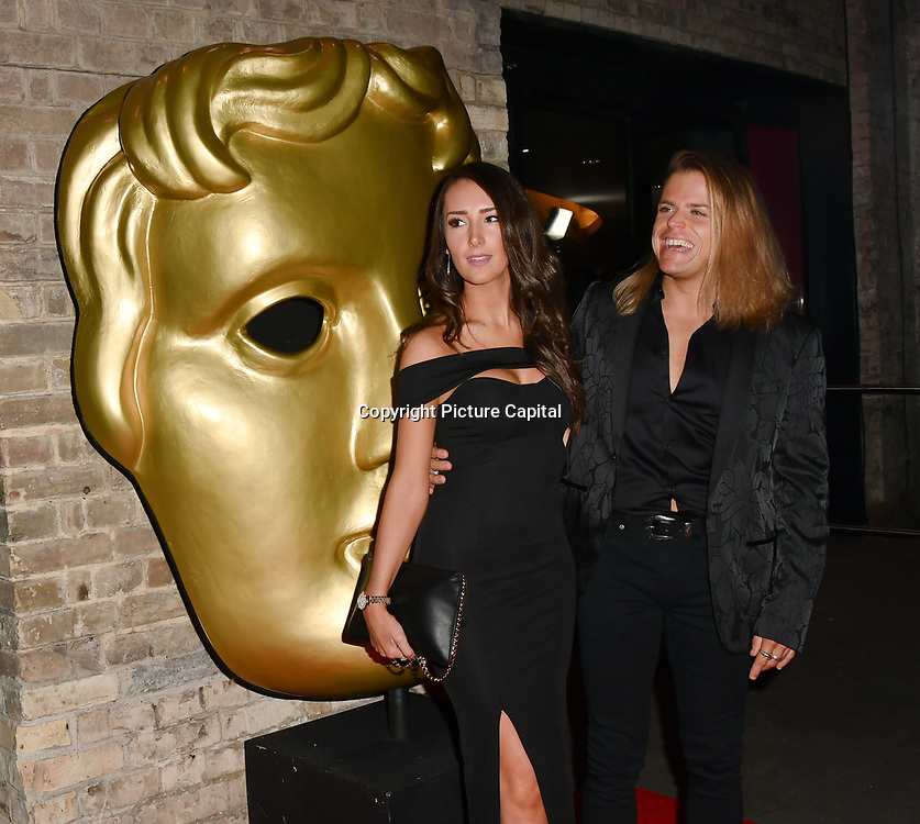 Giovanni Spano and Natasha Jenkins arrivers at the BAFTA Children's Awards 2018 at Roundhouse on 25 November 2018, London, UK.
