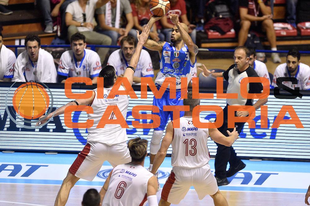 DESCRIZIONE : Supercoppa 2015 Semifinale Banco di Sardegna Sassari - Grissin Bon Reggio Emilia<br /> GIOCATORE : David Logan<br /> CATEGORIA : tiro three points<br /> SQUADRA : Banco di Sardegna Sassari<br /> EVENTO : Supercoppa 2015<br /> GARA : Banco di Sardegna Sassari - Grissin Bon Reggio Emilia<br /> DATA : 26/09/2015<br /> SPORT : Pallacanestro <br /> AUTORE : Agenzia Ciamillo-Castoria/GiulioCiamillo