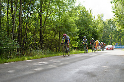 Lotta Lepistö (Cervélo Bigla) leads the front group with 2.5 laps to go at the 141 km road race of the UCI Women's World Tour's 2016 Crescent Vårgårda women's road cycling race on August 21, 2016 in Vårgårda, Sweden. (Photo by Sean Robinson/Velofocus)