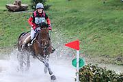 Biarritz II ridden by Camilla Kruger in the Equi-Trek CCI-L4* Cross Country during the Bramham International Horse Trials 2019 at Bramham Park, Bramham, United Kingdom on 8 June 2019.