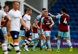 Burnley's Jonathan Walters celebrates after scoring his sides first goal  - Mandatory by-line: Matt McNulty/JMP - 25/07/2017 - FOOTBALL - Deepdale Stadium - Preston, England - Preston North End v Burnley - Pre-Season friendly