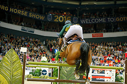 Chugg Chris, (AUS), Cristalline<br /> Longines FEI World Cup Jumping Final III B<br /> © Dirk Caremans