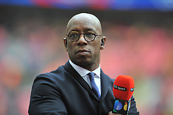 IAN WRIGHT PRESENTER, Crystal Palace v Watford Emirates FA Cup Semi Final Wembley Stadium Sunday 24th April 2016, Score Palace 2-1 (Bolasie, Wickham) Watford 1 (Deeney)