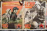 Uruguay / Montevideo / 2017<br /> Afiches sobre el D&iacute;a de la Mujer del Movimiento 26 de Marzo. Av.18 de Julio, Montevideo, 7/3/2017. Foto: Ricardo Ant&uacute;nez / adhocFOTOS