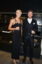VICTORIA THORNLEY and RICK EDWARDS at the opening of the Tiger of Sweden Store, 210 Piccadilly, London on 3rd October 2013.