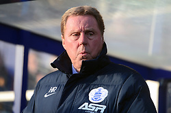 Queens Park Rangers manager Harry Redknapp during the Barclays Premier League match at Loftus Road, London. PRESS ASSOCIATION Photo. Picture date: Saturday January 17, 2015. See PA story SOCCER QPR. Picture credit should read: Adam Davy/PA Wire. RESTRICTIONS: Editorial use only. Maximum 45 images during a match. No video emulation or promotion as 'live'. No use in games, competitions, merchandise, betting or single club/player services. No use with unofficial audio, video, data, fixtures or club/league logos.