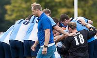 BLOEMENDAAL - Bloemendaal-Hurley (4-2) . Coach Simon Organ (Hurley)   . COPYRIGHT KOEN SUYK