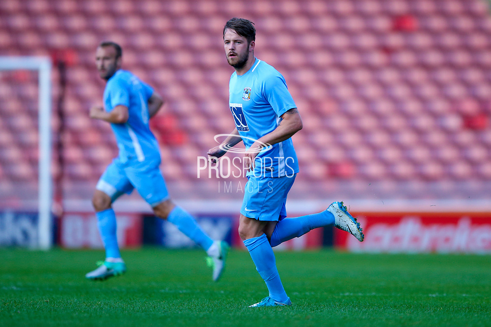 Coventry City forward Marc McNulty (10) in action  during the Pre-Season Friendly match between Barnsley and Coventry City at Oakwell, Barnsley, England on 18 July 2017. Photo by Simon Davies.