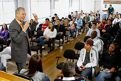 José Fortunati participa de encontro com as juventudes do PDT e PMDB na sede do diretório municipal. FOTO: Jefferson Bernardes/Preview.com