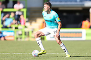 Forest Green Rovers Paul Digby(20) on the ball during the EFL Sky Bet League 2 match between Forest Green Rovers and Swindon Town at the New Lawn, Forest Green, United Kingdom on 25 August 2018.
