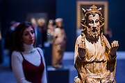 Sculptures from the Old Masters Sculpture sale - London Old Masters Evening sale exhibition at Sotheby's New Bond Street. The sale takes palce on 6 December 2017 covers 400 years of art history.