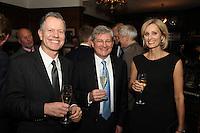 Amelie Klinspor, Herve? Deschamps (Perrier-Jouet) and Mark Pinder