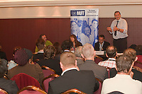 Kevin Courtney NUT DGS. Hope Not Hate fringe meeting at the TUC Conference 2010.