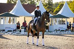 BREDOW-WERNDL Jessica (GER), TSF Dalera BB<br /> Siegerehrung<br /> Preis des Landes Nordrhein-Westfalen<br /> Nat. Dressurprüfung Kl. S**** - Grand Prix de Dressage -<br /> Qualifikation zur Deutschen Meisterschaft der Dressurreiter<br /> Balve Optimum - Deutsche Meisterschaft Dressur 2020<br /> 18. September2020<br /> © www.sportfotos-lafrentz.de/Stefan Lafrentz