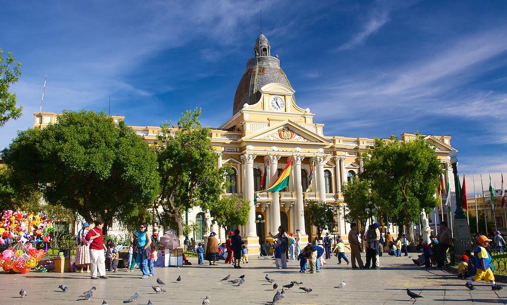 Plaza Murillo - La Paz, Bolivia