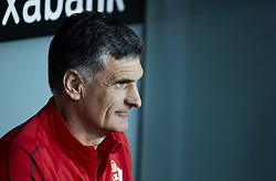 February 23, 2019 - Bilbao, Spain - Bilbao, northern Spain, Sunday, February, 23, 2019. Coach Jose Luis Mendilibar during the Spanish La Liga soccer match between Athletic Club Bilbao and S.D Eibar at San Mames stadium. (Credit Image: © Gtres/NurPhoto via ZUMA Press)