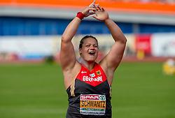 07-07-2016 NED: European Athletics Championships day 2, Amsterdam<br /> Christina Schwanitz GER