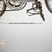 Chris King's first personal bicycle in the factory museum in Portland, Oregon.