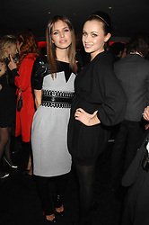 Left to right, DASHA ZHUKOVA close friend of Roman Abramovich and CAMILLA AL FAYED at a party to celebrate the launch of the Kova & T fashion label and to re-launch the Harvey Nichols Fifth Floor Bar, held at harvey Nichols, Knightsbridge, London on 22nd November 2007.<br /><br />NON EXCLUSIVE - WORLD RIGHTS