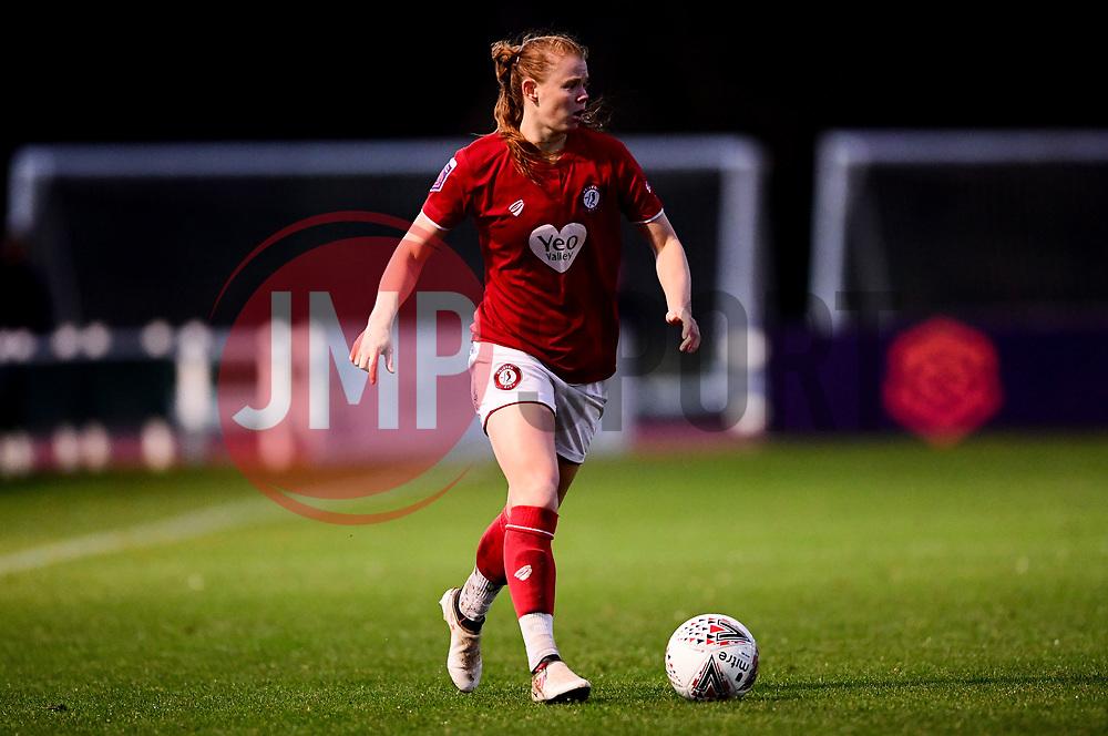 Meaghan Sargeant of Bristol City - Mandatory by-line: Ryan Hiscott/JMP - 08/12/2019 - FOOTBALL - Stoke Gifford Stadium - Bristol, England - Bristol City Women v Birmingham City Women - Barclays FA Women's Super League
