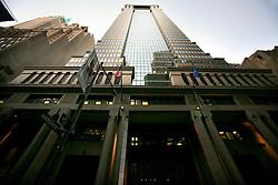 USA NEW YORK 04JUN10 - Deutsche Bank building in downtown Manhattan skyline, New York...jre/Photo by Jiri Rezac..© Jiri Rezac 2010